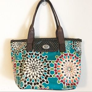 Fossil Key-Per Tote Bag